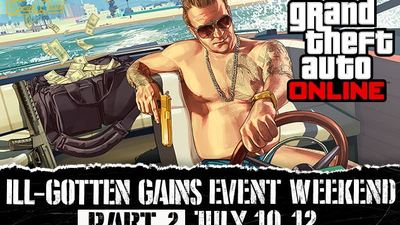GTA 5: Ill-Gotten Gains Part Two weekend event announced