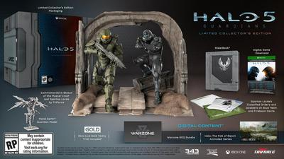 343 Industries looking into solutions for Halo 5: Guardians Collector's Edition digital debacle