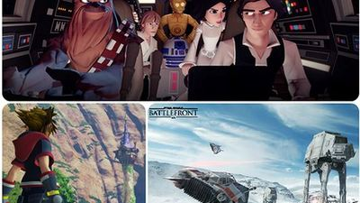 Star Wars Battlefront, Kingdom Hearts 3 headed to Disney's D23 Expo 2015