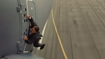 Mission Impossible: Rogue Nation stunt inspired by Uncharted 3's plane sequence