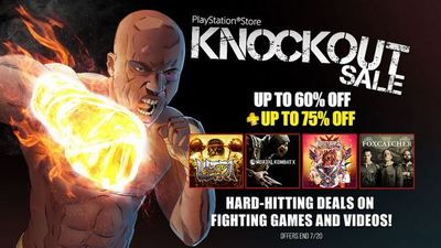 PlayStation's 'Knockout Sale' brings massive discounts to fighting games and movies