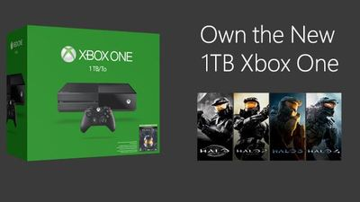 Amazone Prime Day sale discount Xbox One Halo: The Master Chief Collection 1TB Console with Borderlands Game and Xbox Live