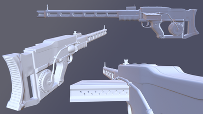 An updated look at Fallout 4's Rail Rifle mod