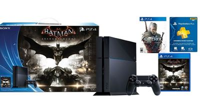 Amazon discounts PS4 Batman Arkham Knight Bundle with Witcher 3 and PlayStation Plus