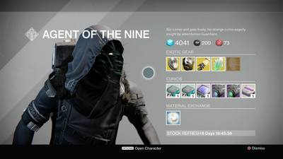 Xur forgets to bring weapons in trip to Destiny