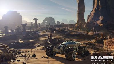There is a 'very good reason' for the song in Mass Effect Andromeda's trailer