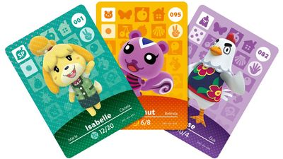 Aminal Crossing amiibo cards come in blind packs