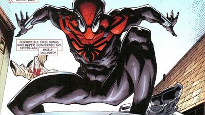 Is this the new costume for the upcoming Spider-Man film?