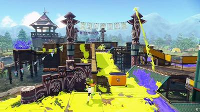New Splattoon stage Camp Triggerfish coming tomorrow