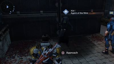 Destiny: Xur, Agent of the Nine, Tower location and exotic items (7/24/15)