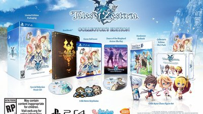Tales of Zestiria collector's edition comes loaded with goodies