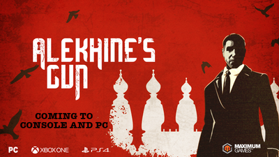 Alekhine's Gun is a Russian espionage game, not about chess