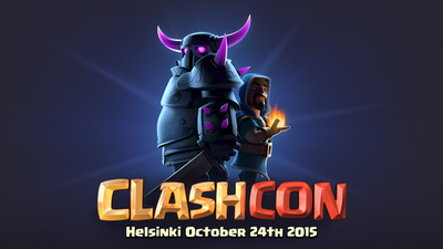 Tickets to first-ever Clash of Clans convention, ClashCon, now on sale