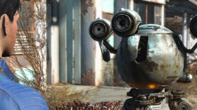 Fallout 4's Codsworth can call you even the most ridiculous names, like Mr. F**kface