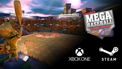 Super Mega Baseball Extra Innings landing on Xbox One in August