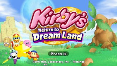 Elusive Kirby Wii game heading to Wii U eShop