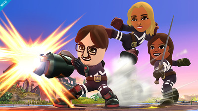 Three new Mii outfits coming to Super Smash Bros.