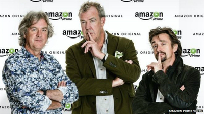 Former Top Gear cast reunite following Amazon deal