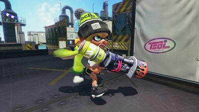 Splatoon gets two new weapons tonight