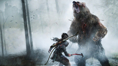 Rise of the Tomb Raider 3 times as big, way more immersive