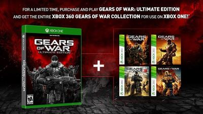 Gears of War Ultimate Edition upgraded to include entire Gears collection
