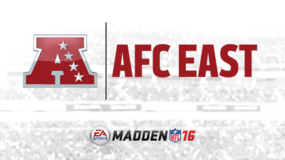 Madden NFL 16: AFC East team ratings revealed