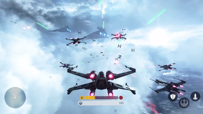 Star Wars Fighter Squadron mode revealed, let's you control Millenium Falcon