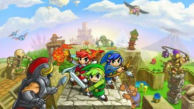 The Legend of Zelda: Tri Force Heroes to release in October