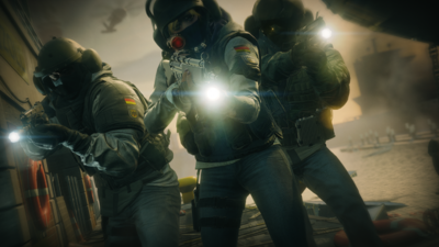 Rainbow Six Siege gives a look at competitive gameplay through the Spectator Camera Mode