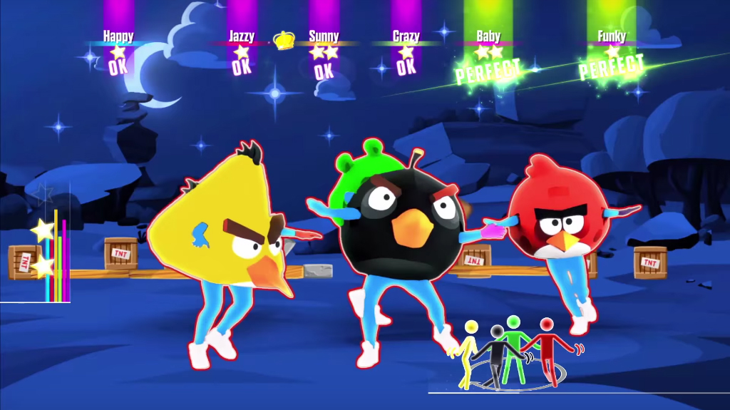 Angry Birds Infiltrates Just Dance 2016 S Tracklist