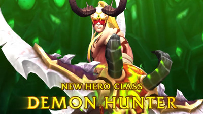 Take a look at World of Warcraft: Legion's new Demon Hunter class