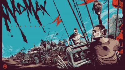 Mondo announces screen prints of Mad Max: Fury Road