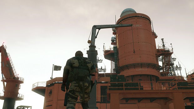 Metal Gear Solid tower