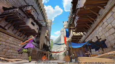 Check out how Dragon Quest XI will look like on the PlayStation 4 and 3DS