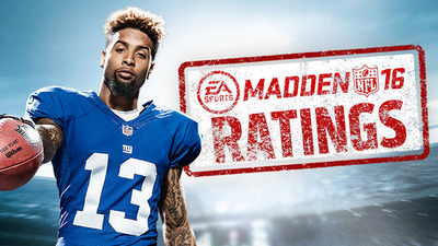 All Madden NFL 16 player and team ratings revealed