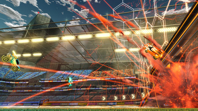 We asked Psyonix about goalies in Rocket League, here's what they said