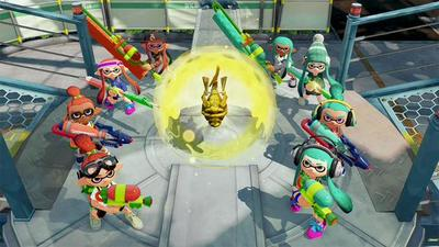 Splatoon's new Rainmaker mode launches tonight