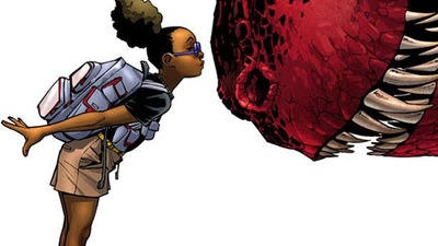 Marvel introduces new female superhero with Moon Girl and the Devil Dinosaur