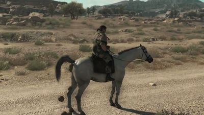 Hideo Kojima reveals horse poo affects vehicle stability in Metal Gear Solid 5: The Phantom Pain