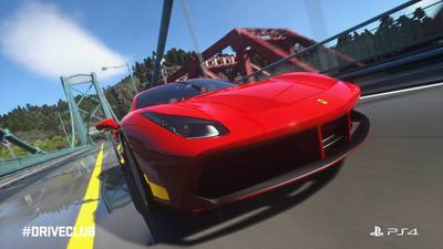 New Ferrari coming to Driveclub later this month