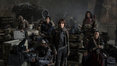 First image of Star Wars: Rogue One cast revealed