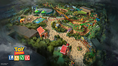 Toy Story Land announced for Disney's Hollywood Studios