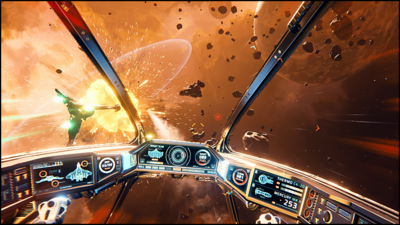 Everspace looks to fill in the void from No Man's Sky