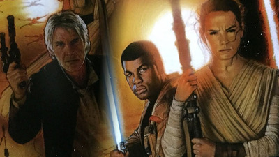Did Star Wars: The Force Awakens poster drop an even bigger clue about Han Solo, Finn, and Rey?