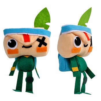 Tearaway Unfolded's Special Edition features an Iota plushie