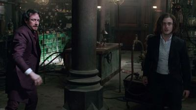 Professor X and Harry Potter team up to raise the dead in Victor Frankenstein