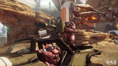 343i: Halo 5's Warzone is Big Team Battle on steroids