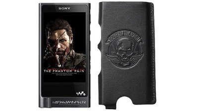 Pricy but pretty, check out this Metal Gear Solid MP3 player from Sony
