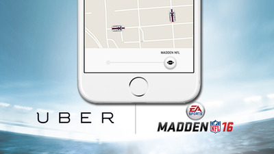 EA teams with Uber for early delivery of Madden NFL 16