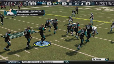 List of possible Dynamic Drive Goals in Madden 16